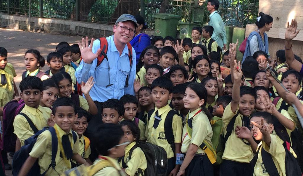 John Shors in India